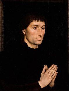 Art patron Tommaso di Folco Portinari, by Hans Memling, probably 1470.