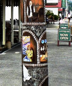 utility pole art Pole Art, Telephone, Utility Pole, Cities, Street Art, Antiques, Phone, Antiquities, Phones