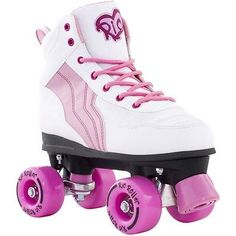 Rio Roller Pure Childs Quad Skates - Pink - for sale online Kids Roller Skates, Kids Skates, Quad Skates, Skates On The Bay, Skates For Sale, Skateboards Uk, Complete Skateboards, Rio Roller, Retro