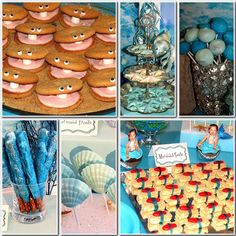 For my little girl one day...a little mermaid birthday party!
