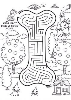 maze for kids Kindergarten Activities, Learning Activities, Kids Learning, Activities For Kids, Preschool, Activity Sheets For Kids, Mazes For Kids, Worksheets For Kids, Coloring Books