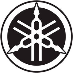 Yamaha Logo, Tribal Logo, Bike Logo, Logo Desing, Water Logo, Hand Logo, Circle Logos, Logo Sticker, W 6