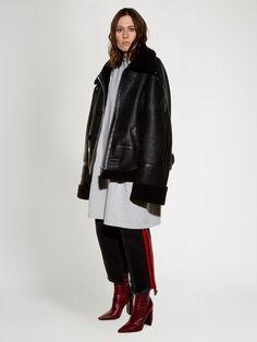 Oversized shearling jacket | Vetements | MATCHESFASHION.COM
