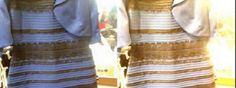 Abito bianco oro o nero blu venture
