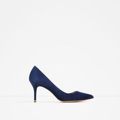 LEATHER MID HEEL SHOES-View all-SHOES-WOMAN | ZARA Greece
