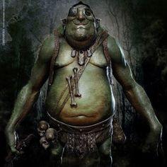 Fantasy Art: Ogre