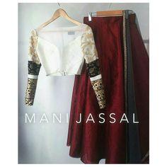 New bridal lengha white indian outfits ideas Indian Attire, Indian Wear, Bride Indian, Pakistani Dresses, Indian Dresses, Eid Dresses, Party Wear Dresses, Asian Fashion, Ethnic Fashion