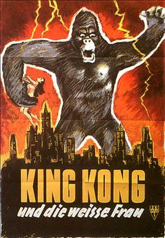 Poster zum Film: King Kong und die weiße Frau