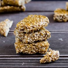 You need just sugar and sesame seeds for this crunchy candy.