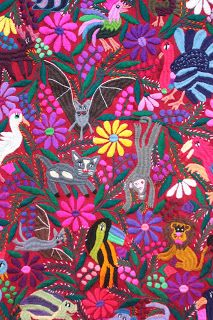 Learn Brazilian Embroidery Stitches Rayon Thread From Filter Paper Wikipedia Brazilian Embroidery Stitches, Mexican Embroidery, Folk Embroidery, Embroidery Patterns, Embroidery Needles, Mexican Fabric, Mexican Textiles, Mexican Folk Art, Bordado Popular