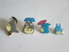 Totoro pins.