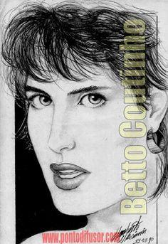 Roseane ( capa Playboy 1986 ) - lápis 6B