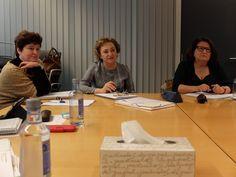Sesión de trabajo en la Consellería de Sanidade el 15 de diciembre de 2015. Despidiendo el año