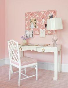 teen desk idea- Laura Wilmerding Interiors