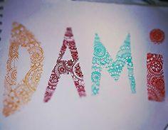 Mi nombre en mandalas