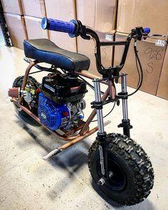 0 air psi I sprained my wrist I'm and… Custom Mini Bike, Custom Bikes, 4 Wheel Bicycle, Mini Motorbike, Mini E, Go Kart Plans, Diy Go Kart, Mini Chopper, Drift Trike