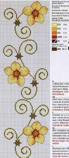 Cross Stitch Boarders, Cross Stitch Bookmarks, Cross Stitch Rose, Cross Stitch Baby, Cross Stitch Designs, Cross Stitch Patterns, Cross Stitches, Silk Ribbon Embroidery, Cross Stitch Embroidery