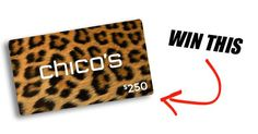 That's right! We're giving away a gift card to Chico's Clothing Store.  http://upvir.al/ref/10834849