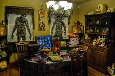 We would love to have you for dinner.Something wicKED this way comes....: The wicKED weeKEnD Halloween Party of 2014