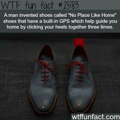 No Place Like Home shoes -WTF funfacts