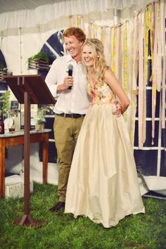 Backdrop! Amy & Tom's Rustic Country Wedding
