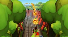 Subway Surfers is a very popular game. All of your friends are probably playing it. Learn how to beat them with these tips and tricks now. Subway Surfers London, Subway Surfers Game, The Gazette, How To Level Ground, Cheating, Gaming, Things To Come, Friends, Tips