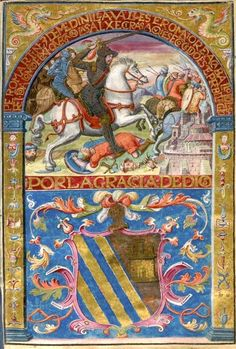 Carta Executoria [Philippe II, roi d'Espagne (1527-1598)]. Carta Executoria, établie en faveur de Louis de Menidilia et de ses frères, Grenade, 1er juin 1590.