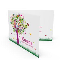 Geboortekaartjes - Emma