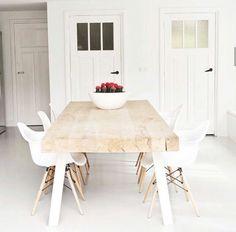 Bright dining nook