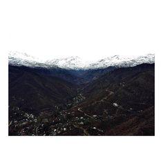 """@rodrigo_werner_ on Instagram: """"Isoterma bien marcada en la Cordillera de Santiago, 1750msnm, por fin se rompió el ciclo de sequía de años, buenas noticias para el…"""""""