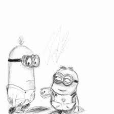 minions sketch Minion Sketch, Minion Drawing, Minion Art, Minions Love, Minions Minions, Despicable Me, Favorite Quotes, Favorite Things, Draw Lips