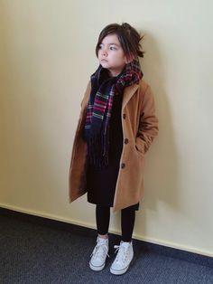 Cutest Little Girl Winter Outfits Ideas > Little Girl Outfits > Best Buzz Young Fashion, Little Girl Fashion, Toddler Fashion, Look Fashion, Kids Fashion, Winter Outfits For Girls, Little Girl Outfits, Toddler Outfits, Outfits Niños