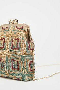 Beaded Purses, Beaded Bags, Embroidery Bags, Beaded Embroidery, Clutch Bag, Crossbody Bag, Potli Bags, Art Bag, Beaded Cross