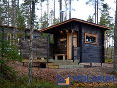 Cabin House Plans, Tiny House Cabin, Cabin Homes, Diy Sauna, Building A Sauna, Sauna House, Sweat Lodge, Contemporary Cabin, Hot Tub Deck