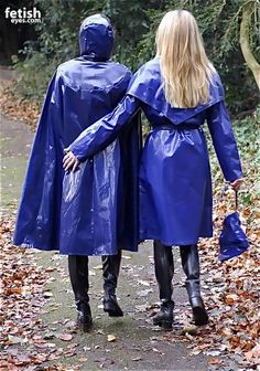club rubberboots and waders 4 Vinyl Raincoat, Blue Raincoat, Pvc Raincoat, Plastic Raincoat, Spice Girls, Parka, Rubber Raincoats, Girls Together, Rain Gear