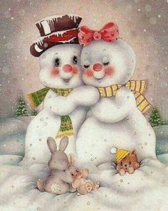 I want theses! They are so adorable! I want theses! They are so adorable! Christmas Clipart, Vintage Christmas Cards, Christmas Printables, Christmas Snowman, Vintage Cards, Winter Christmas, Christmas Crafts, Christmas Decorations, Merry Christmas
