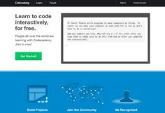 Codeacademy If you haven't noticed by now, the Internet has pretty much taken over everything, which means the skill of coding and developin...