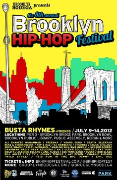 Brooklyn Hip-Hop Festival: FINAL DAY Videos