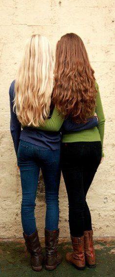Las ventajas de tener cabello largo.
