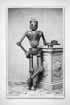 vintage robot…