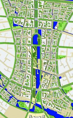 """Project: Planning of """"Yulong New Town"""" - ISA Internationales Stadtbauatelier"""