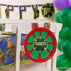1000 Images About Teenage Mutant Ninja Turtles Party