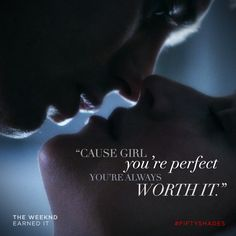 """""""You're always worth it."""" 