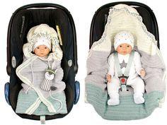Babydecke Schlafsack Wickeldecke Pucksack Swaddle Babyschale Einschlagdecke Warm