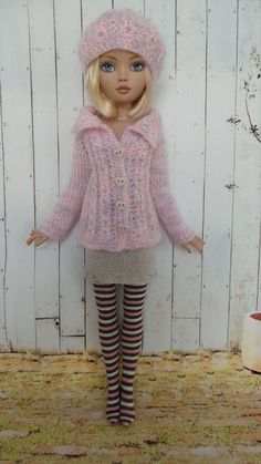 Hand Knit Outfit for Ellowyne Wilde