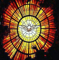 'Humanity cannot live without a consoler.' - Jn by Santa Video, Pentecost, Holy Spirit, Photo And Video, Terra, Instagram, Circles, Console, Hearts