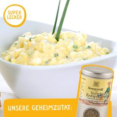 Sieglindes EI-AUFSTRICH: Versucht doch einmal Sieglindes Erdäpfelgewürz in diesem schnellen & leckeren Ei-Aufstrich. Ihr werdet begeistert sein! Cantaloupe, Macaroni And Cheese, Spices, Brunch, Fruit, Breakfast, Ethnic Recipes, Food, Grill Party