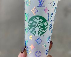 Monogramming Gifts Special Occassions & More by MadeInHisImageShop Cute Birthday Gift, Birthday Gifts For Boys, Starbucks Birthday, Starbucks Christmas, Custom Starbucks Cup, Starbucks Coffee, Coffee Gift Baskets, Bridesmaid Cups, Trending Christmas Gifts