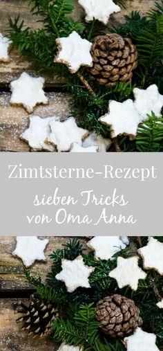 Zimtsterne Rezept: Oma Anna von Kuchentratsch verrät ihre besten Tricks für den Weihnachtsklassiker – damit alles ganz einfach gelingt