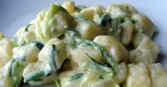 In cucina mi rilasso: Gnocchetti con gorgonzola e zucchine